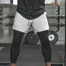 Sporting-Pants Ankle-Length Elastic New Training Two-Piece Quick-Drying Gyms M-XXXL Breathable