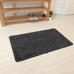Super absorvente tapete de porta mágica microfibra passo limpo super tapete lavável capacho para casa