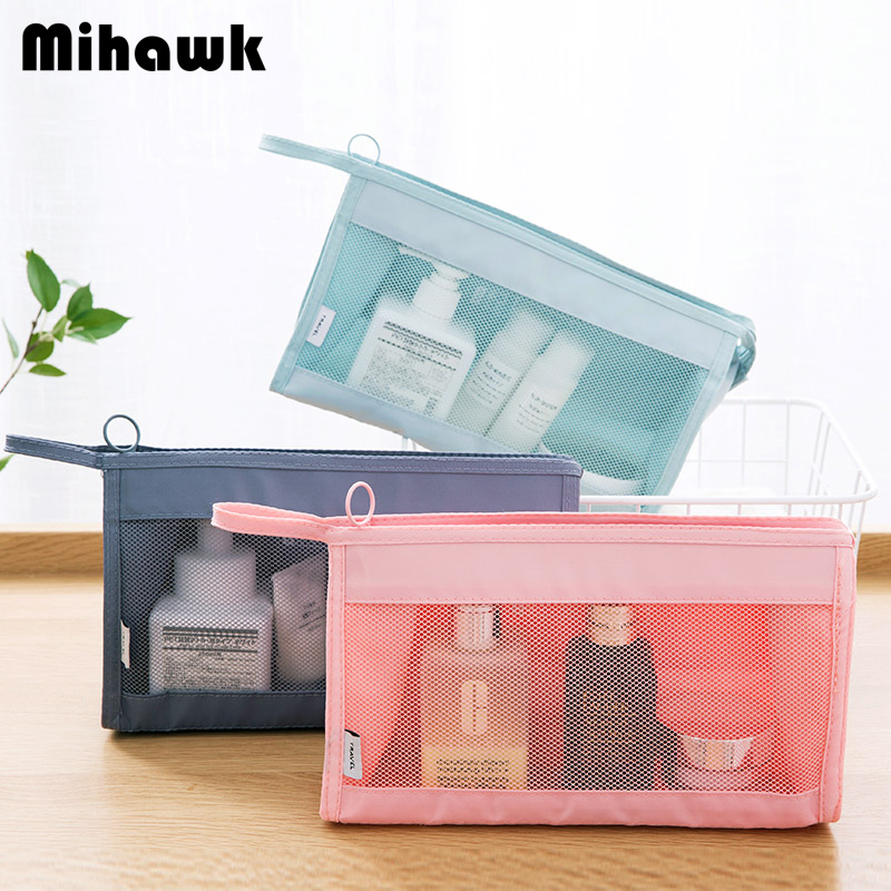 Mihawk Multicolor Available Fashion Oxford Cosmetic Bag Women's Men's Travel Waterproof Necessary Pouch Accessory Supply Product