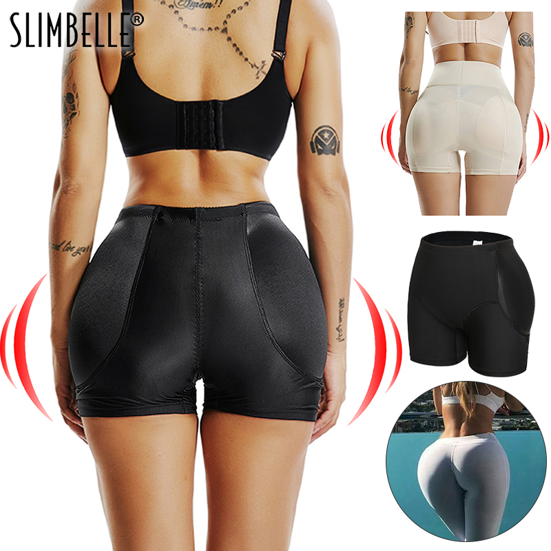 Amazing Seamless Women Shaper Butt Lifter Enhancer Padded Control Panties Boyshort Briefs Fake Ass Buttock Hip Pants Underwear
