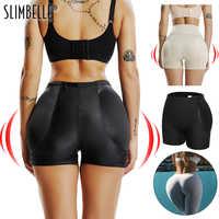 Niesamowite bezszwowe kobiety Shaper Butt Lifter Enhancer wyściełane majtki kontroli szorty figi fałszywe tyłek pośladki Hip spodnie bielizna