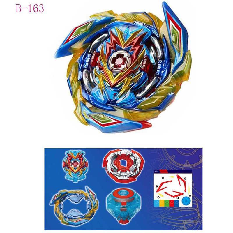 Tops lanzadores Beyblades explosión B-153 Arena juguetes Bey hojas cuchilla Aquiles Bayblades Bable Fafnir Phoenix Blayblades AA