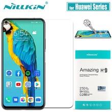 Huawei Honor 20 10 פרו 9X 8X מזג זכוכית Mate 20 X מסך מגן Nillkin 9H קשה ברור בטיחות זכוכית על Huawei P30 P20 לייט