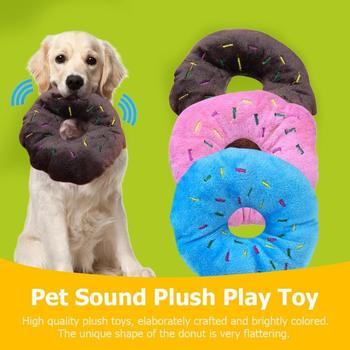 11cm Pet Dog Chew Donut Toy 1