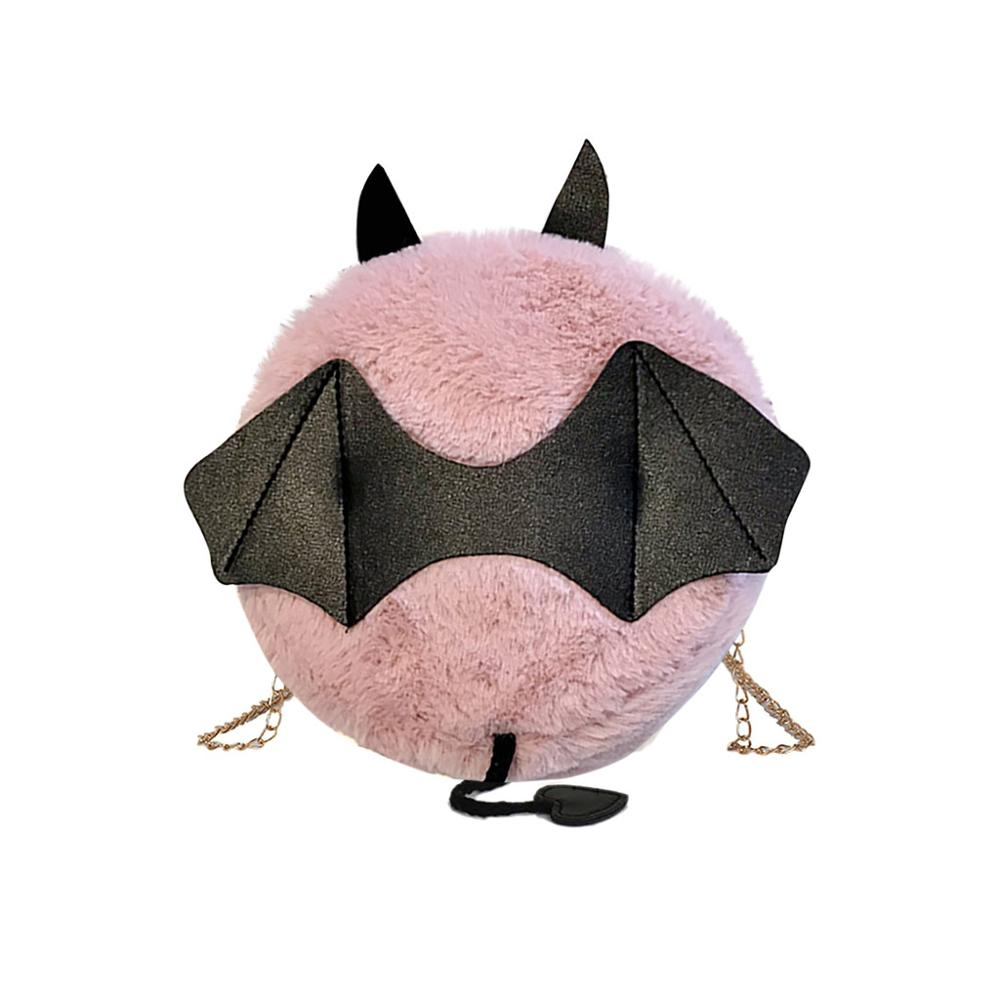 Woman Bag Funny  Cartoon Bat Plush Bags Personality Crossbody Bags Simple Cute Versatile Casual 2020 New