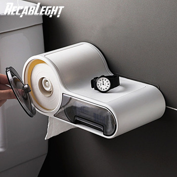 Multifunction Paper towel rack Home Hotel Toilet Paper Roll Dispenser Bathroom Lavatory Wall Mounted Paper Tissue Storage Box toilet paper box jumbo roll paper dispenser wall mounted plastic tissue box bathroom tissue dispenser toilet paper holder case
