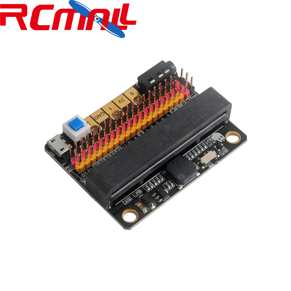 For Micro:bit Microbit GPIO Expansion Board IOBIT V2 Breakout For Lego Education, For Kids Programming Education RCmall