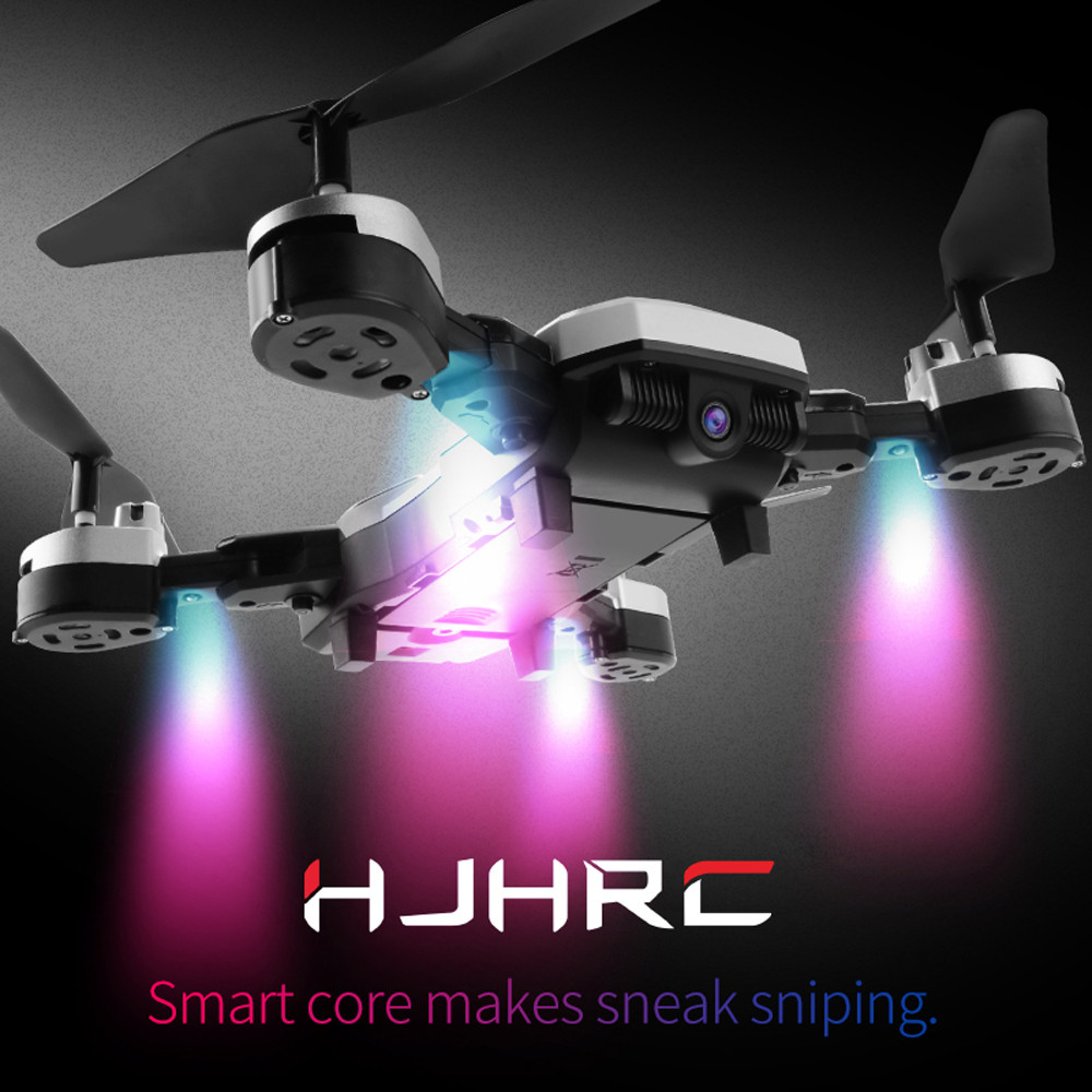 HJ28 Drone 5.0MP 1080P  Wifi FPV Foldable 6-Axis Gyro Headless RC Helicopter Quadcopter Drones Selfie With Camera HD 2