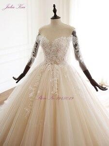 Image 5 - Свадебное платье с аппликацией и бусинами, на шнуровке