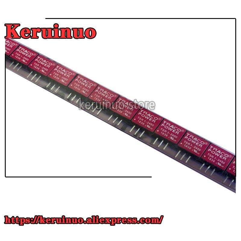 Lote 1-2450 Tsr1-2450 Não-isolado dc Converter 6.5-36vin 5vout 1a Smt 10 Pçs – Tsr