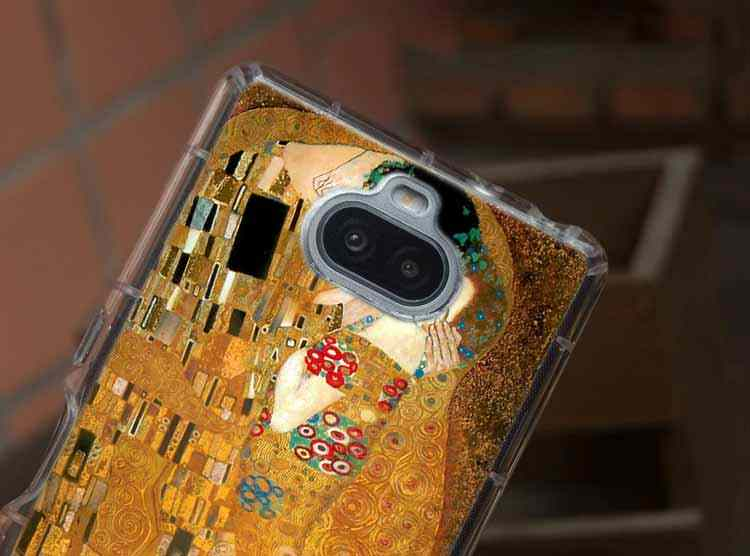 Gustav Klimt sztuki miękka TPU skrzynka dla Sony Xperia X XA XA1 XA2 XA3 XZ XZ1 XZ2 XZ3 XZ4 L1 L2 L3 Plus Compeact