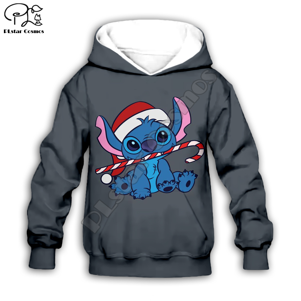 Kids Cloth Anime Kawaii Lilo Stitch 3d Hoodies/boy Sweatshirt Cartoon Hot Movie Style-9