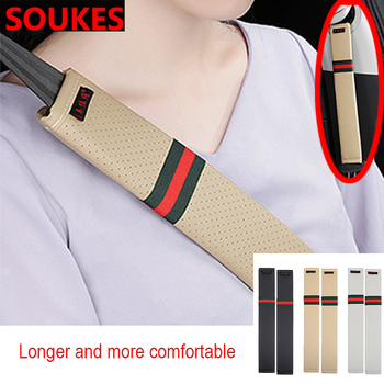 35cm Lengthen Car Seat Safety Belts Cover For Suzuki Swift Bmw F10 X5 E70 E30 F20 E34 G30 E92 E91 M Volvo XC90 S60 V40 S80 image