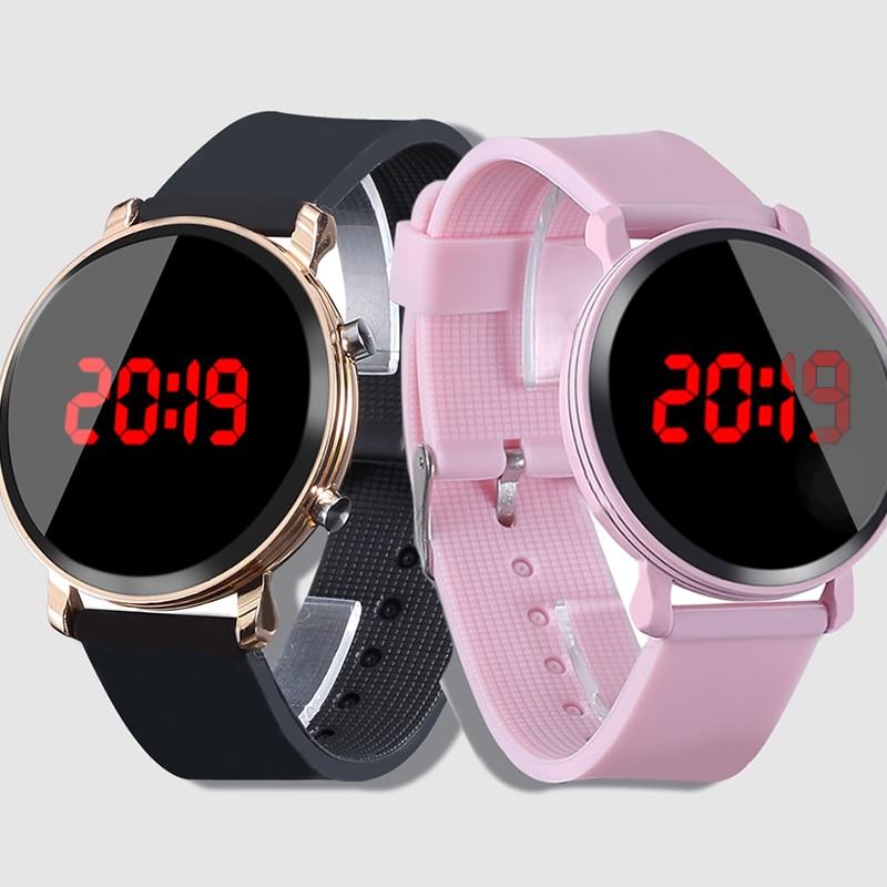2019 Casual Pink Watch Children's Watches Silicone Led Watch Digital Clock Boys Sport Wristwatch Kids Watches Girls Reloj Ni O