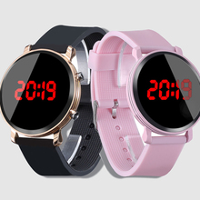 2019 Casual Pink Watch Children's Watches Silicone Led