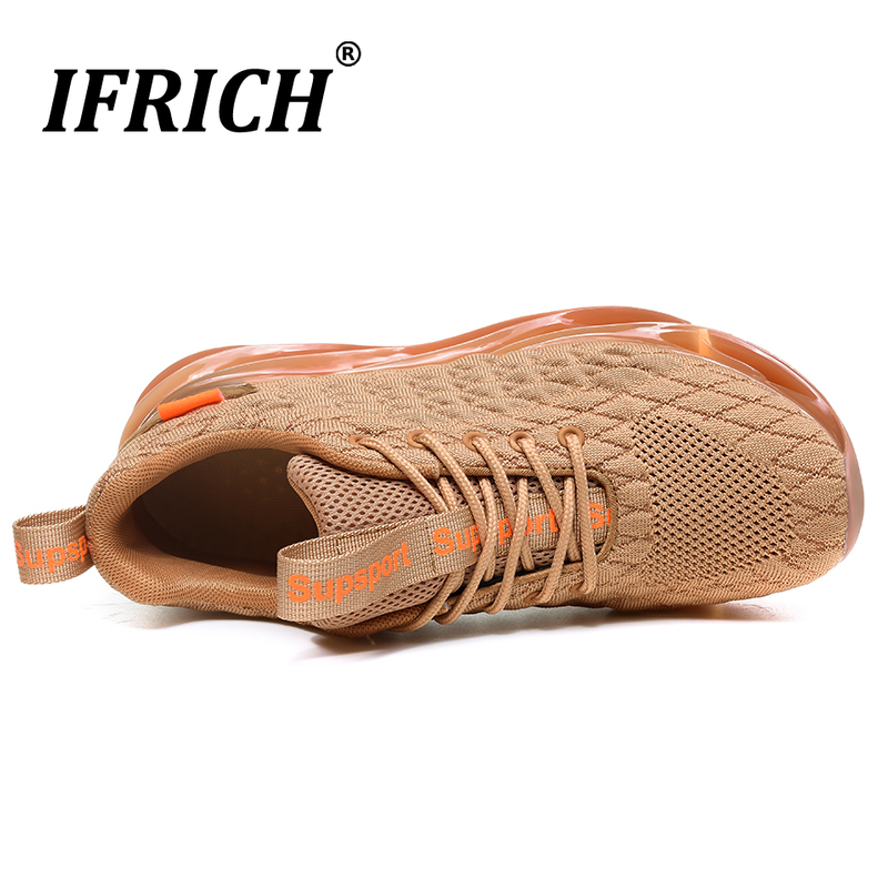 Best Selling 2019 Men Outdoor Sports Shoes Luxury Brand Sneakers Mens Top Quality Running Shoes For Men Comfortable Man Trainers in Running Shoes from Sports Entertainment