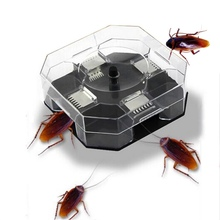 Household Effective Cockroach Traps Box Reusable Bug Roach Catcher Killer Bait Pesticide for Kitchen