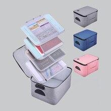 Maletín de alta capacidad, bolsa multifunción de almacenamiento de documentos, certificado de oficina, organización de archivos, accesorios de paquete