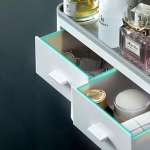 Image 4 - GESEW מגנטי ספיחה הפוך מברשת שיניים מחזיק אוטומטי משחת שיניים מסחטת Dispenser אביזרי אמבטיה
