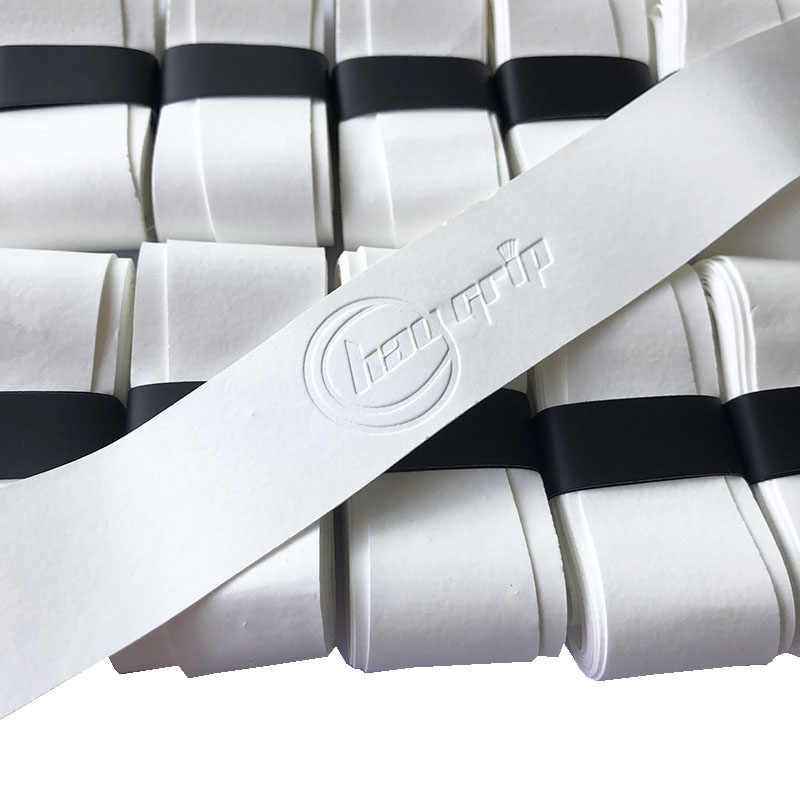1pc 0.4MM dry feel white color tennis Over Grips badminton Tennis Anti-skid Sweat Absorbed Wraps