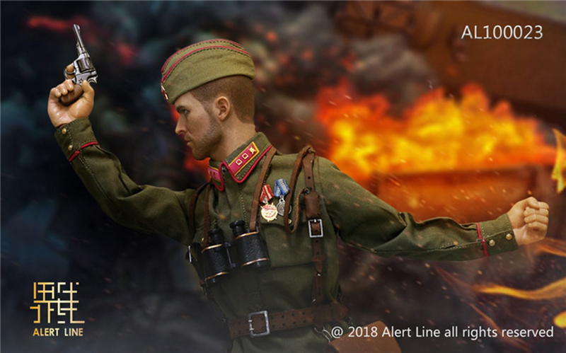 Alert Line 1//6 WWII 1942 Red Army Infantry  Lieutenant Officer Set AL100023 USA