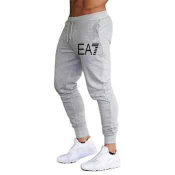 2020 New hot sale men's casual sports pants fashion foot casual pants men's jogging fitness pants gym sports - S, 5