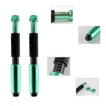 Caneta pressurizada hyaluron caneta dupla 2em1.níveis 3 pressão pro 3 nível hialurônico caneta hialurão 3ml 5ml