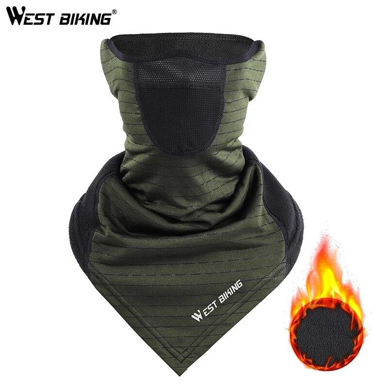 Западный Зимние головные уборы для велосипедного спорта теплые флисовые пробежки, рыболовная бейсболка маска для лица для велосипеда вело...