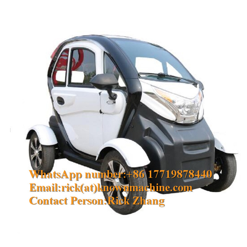 Cheap Autos Electric Car Para Adultos 2019 Elektro Car Carro Electric Adult Three Seater Mini Car Price