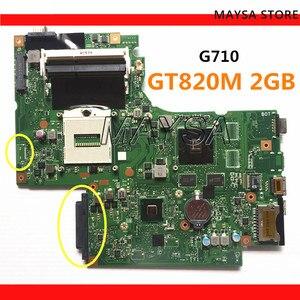 Image 1 - Carte mère DUMBO2 REV:2.1 rPGA947 adapté pour lenovo G710 ordinateur portable ordinateur portable G710 carte mère, puce graphique N15V GM B A2 2GB GT820M