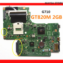 DUMBO2 Main board REV:2.1 rPGA947 fit for lenovo G710 notebook pc laptop G710 motherboard, Graphic chip N15V GM B A2 2GB GT820M