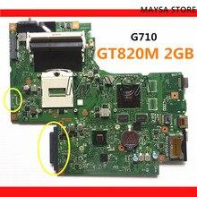DUMBO2 ana kurulu REV:2.1 rPGA947 için fit lenovo G710 dizüstü pc dizüstü G710 anakart, grafik çip N15V GM B A2 2GB GT820M