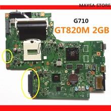 DUMBO2メインボードrev: 2.1 rPGA947レノボのG710ノートpcのラップトップG710マザーボード、グラフィックチップN15V GM B A2 2ギガバイトGT820M