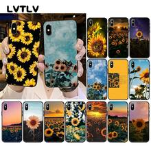 LVTLV Cute Summer Daisy Sunflower Peony Floral Flower Phone Case For iPhone 11 pro XS MAX 8 7 6 6S Plus X 5 5S SE XR case(China)