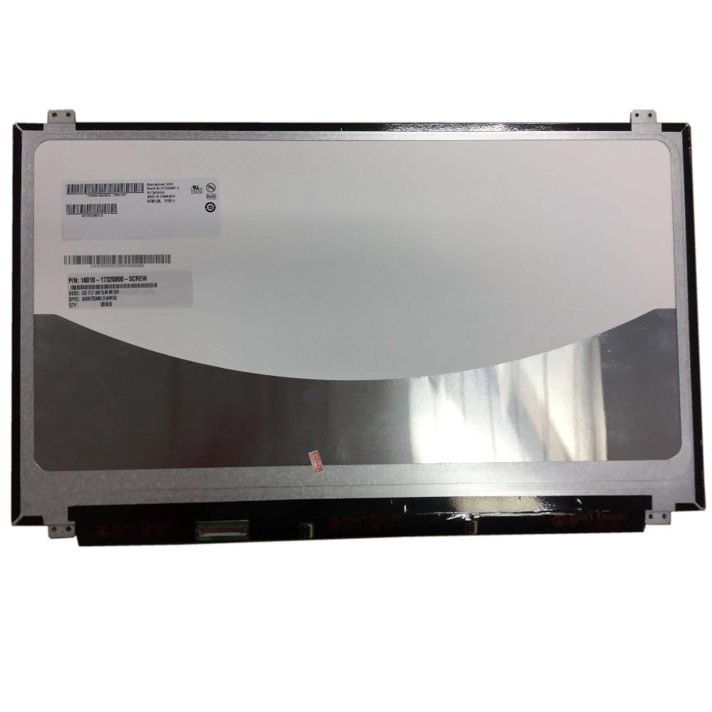 B173ZAN01.0 17.3 Inch Screen 4K Super LCD Screen 3840x2160 Wideview Display