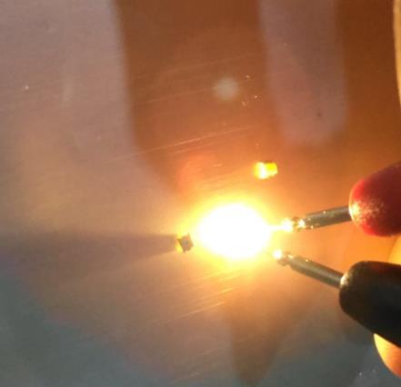 SMD 0807 мигающий теплый белый светодиодный Диод