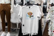 Anime One Piece Doni Doni Choba maglietta Hip-hop uomo/donna magliette stampate in cotone maglietta a maniche corte stile streetwear top
