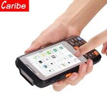Caribe 산업 1D 2d 바코드 스캐너 무선 블루투스 nfc uhf RFID 휴대용 문서 스캐너