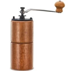1Pcs Mini Manual Adjustable Coffee Bean Grinder Manual Coffee Grinder Wooden Household Kitchen Mini Manual Coffee Grinder Househ