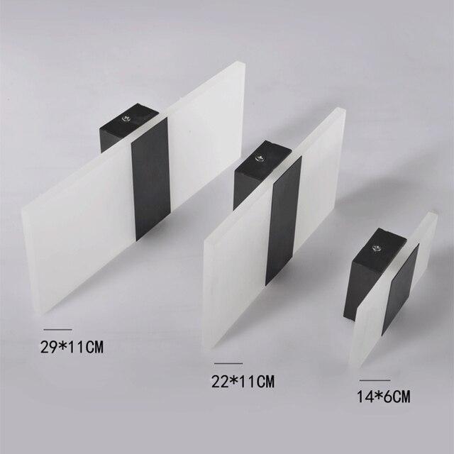 Mooi Moderne Led Acryl Wandlamp  2
