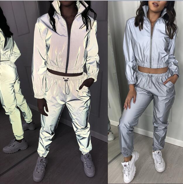 Light Cute 2020 New Design Fashion Hot Sale Suit Set Women Tracksuit Two-piece Style Outfit Sweatshirt Sport Wear