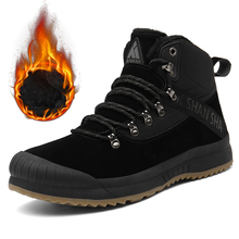 Winter Snow Boots Men Military Shoes Army Boots Casual Flat Shoes Ankl