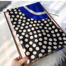 2019 Newest Fashion Cotton Stripe Print Scarves Shawls Women Long Soft Dot Polka
