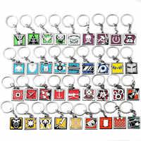 2019 New Game Rainbow Six 6 Site Key Chains Men Women Skull Metal Keyring Male Anime Keychain Holder Porte Clef Jewelry Gift