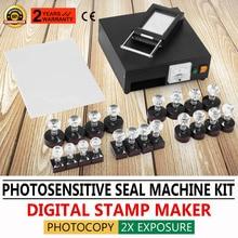 Auto-Inking-Kit Flash-Stamp-Machine HT-A600 Making-Seal Photosensitive Portrait