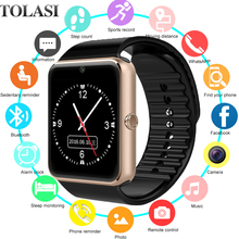 Get more info on the Smart Watch GT08 Children Men Women Kids Watch Phone SIM Card Camera Clock Bluetooth Smartwatch gt 08 Connect Android IOS PK Q18