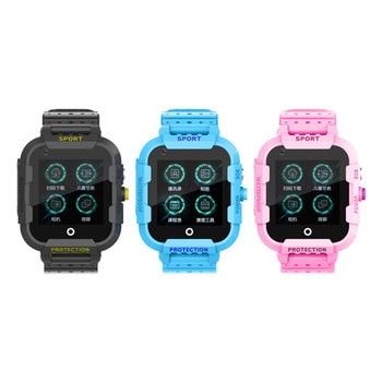 Abay DF39Z kids smart watch 4G GPS Wifi positioning tracker touch screen SOS SIM phone video chat waterproof camera smart watch