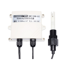 Rs485 Liquid Conductivity Ec Value Sensor Current and Voltage Probe Water Quality Transmitter Tester