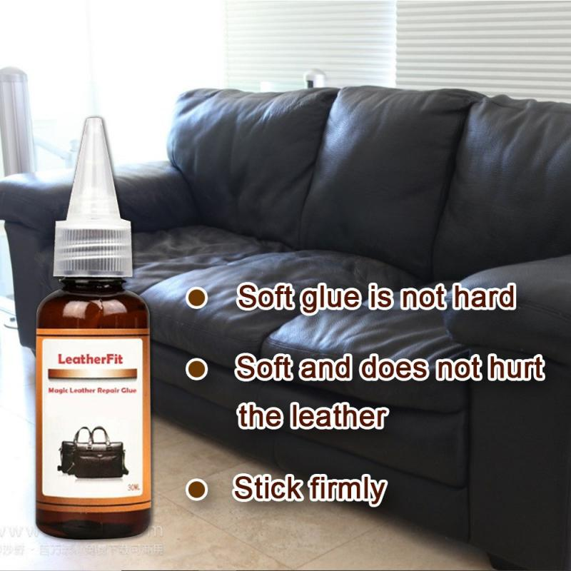30ml Leather Sofa Leather Furniture Sportswear Indoor Magic Leather Repair Glue Hot Sale New Arrivals Home Supplies