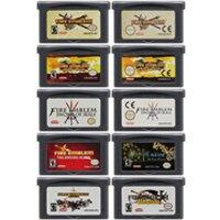 Cartucho de consola de 32 bits para Nintendo GBA Fire Emblem, serie Sword of Seals, cuchilla de encuadernación